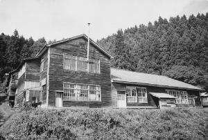 開校当初の校舎